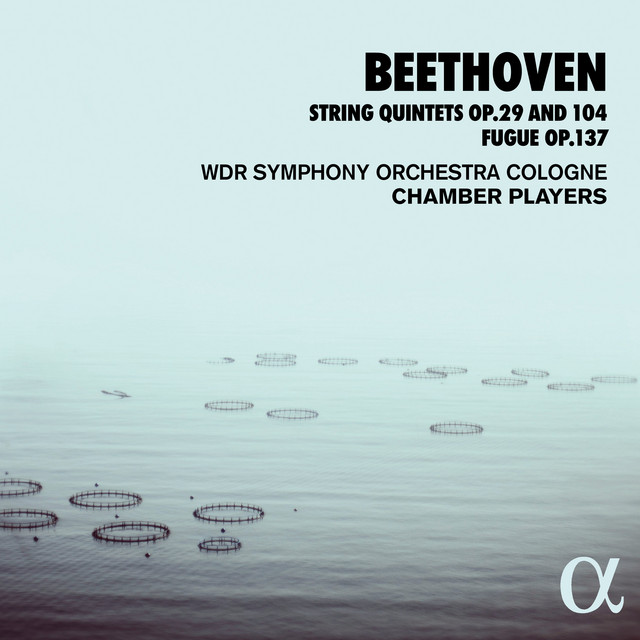 Album cover for Beethoven: String Quintets Op. 29 and 104, Fugue Op. 137 by Ludwig van Beethoven, WDR Symphony Orchestra Cologne Chamber Players