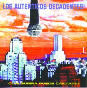 Vinyl Replica: Cualquiera Puede Cantar Albumcover