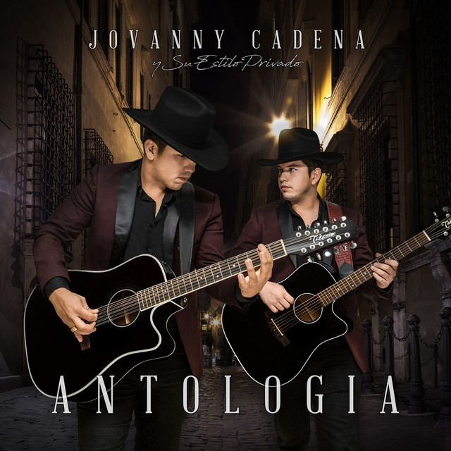 Album cover for Antologia by Jovanny Cadena Y Su Estilo Privado