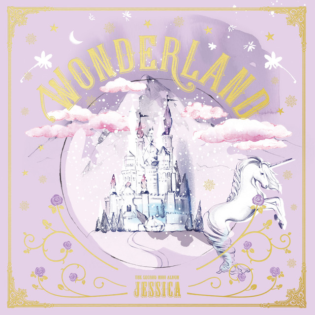 Album cover for Wonderland by Jessica