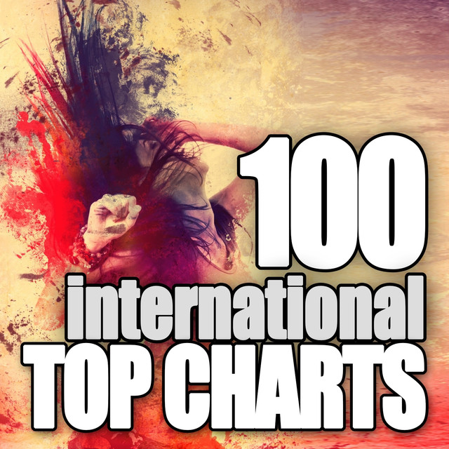 Various Artists 100 International Top Charts album cover