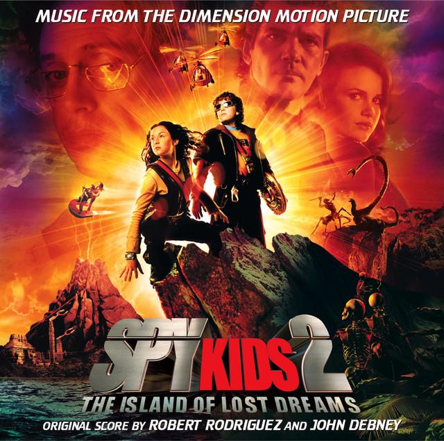 Spy Kids 2 (Original Motion Picture Soundtrack) Albumcover