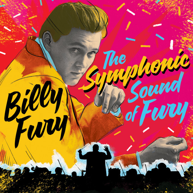 Album cover for The Symphonic Sound Of Fury by Billy Fury