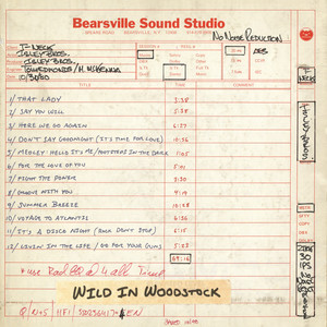 Wild in Woodstock: The Isley Brothers Live at Bearsville Sound Studio (1980) album
