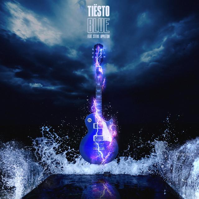 Tiësto & Stevie Appleton - BLUE cover