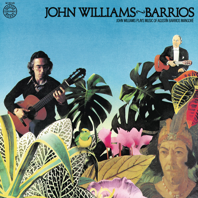 John Williams Plays Barrios Albumcover