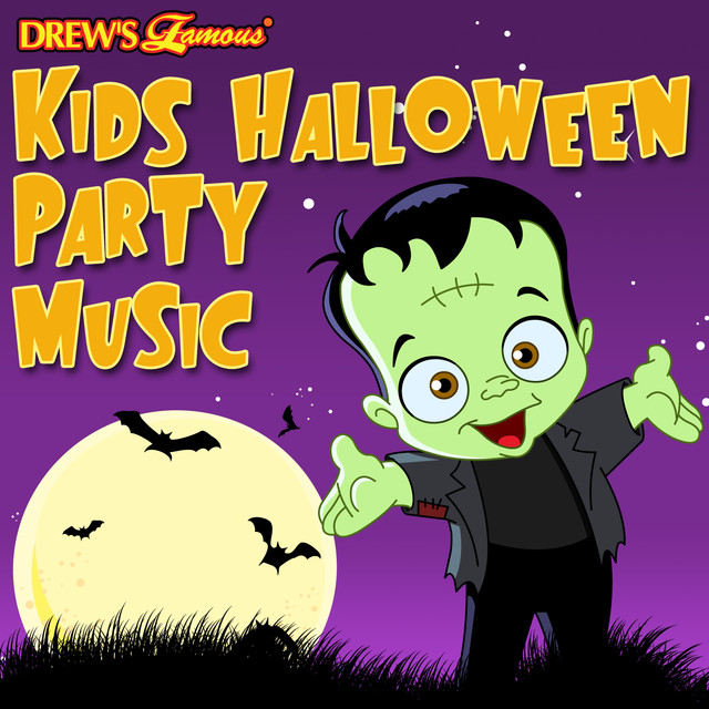 The Hit Crew Kids Halloween Party Music album cover