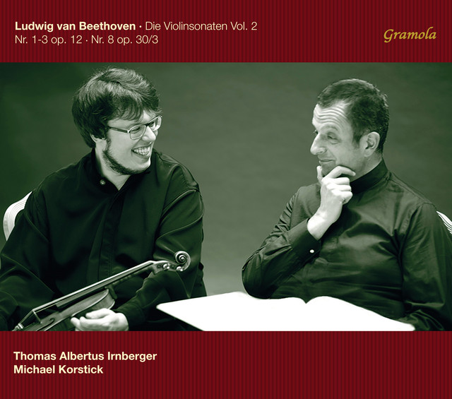 Beethoven: The Violin Sonatas, Vol. 2 Albumcover