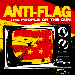 Album cover for The People or the Gun by Anti-flag