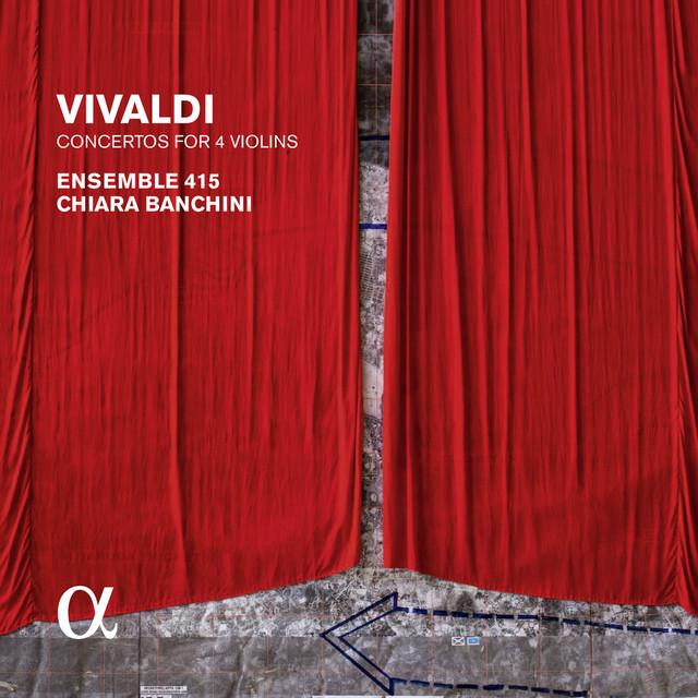Vivaldi: Concertos for 4 Violins (Alpha Collection) Albumcover