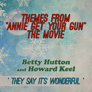 Betty Hutton, Howard Keel There's No Business Like Show Business cover