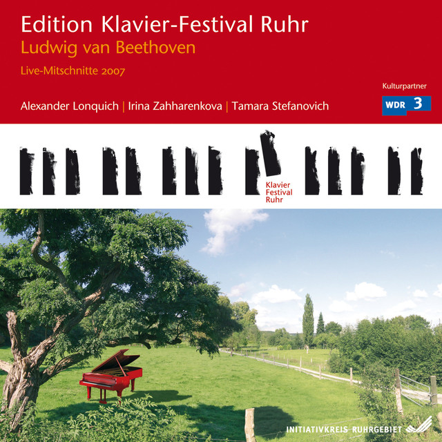 Ludwig van Beethoven: Live Recordings (Edition Ruhr Piano Festival, Vol. 17) Albumcover