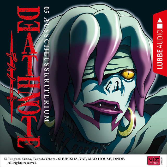 Death Note, Folge 5: Ausschlusskriterium (Hörspiel) Cover