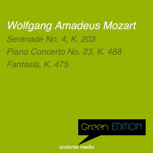 Green Edition - Mozart: Serenade No. 4, K. 203 & Piano Concerto No. 23, K. 488