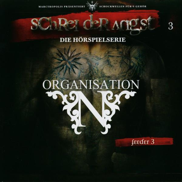 Folge 3 - Feeder - Die Organisation N Cover