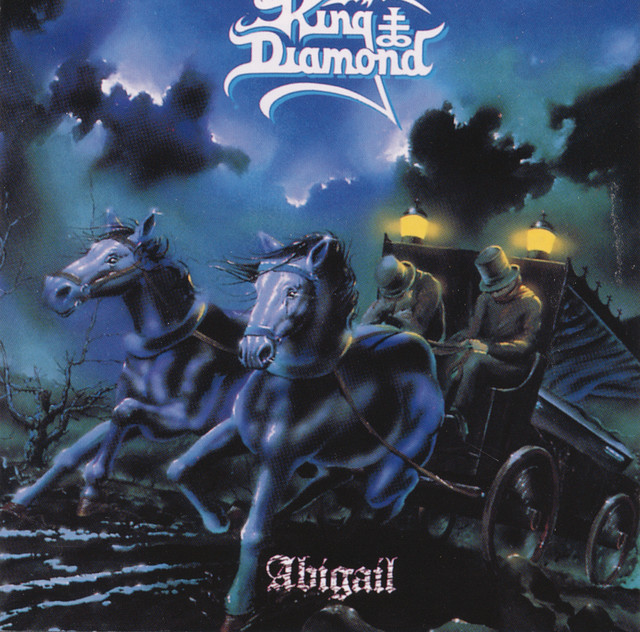King Diamond Abigail album cover