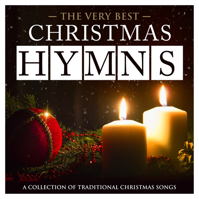 Album cover for Christmas Hymns - The Very Best - A Collection of Traditional Christmas Songs (Deluxe Hymns Version) by The Oxford Trinity Choir