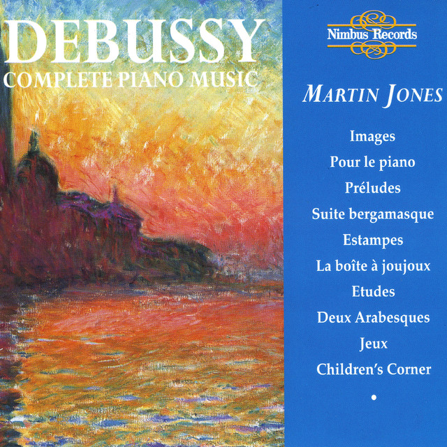 Debussy: Complete Piano Music Albumcover