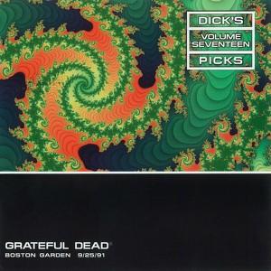 Dick's Picks Vol. 17: 9/25/91 (Boston Garden, Boston, MA) Albumcover