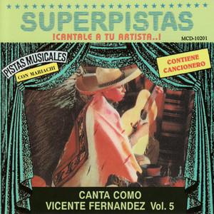Superpistas - Canta Como Vicente Fernandez Vol. 5 Albumcover