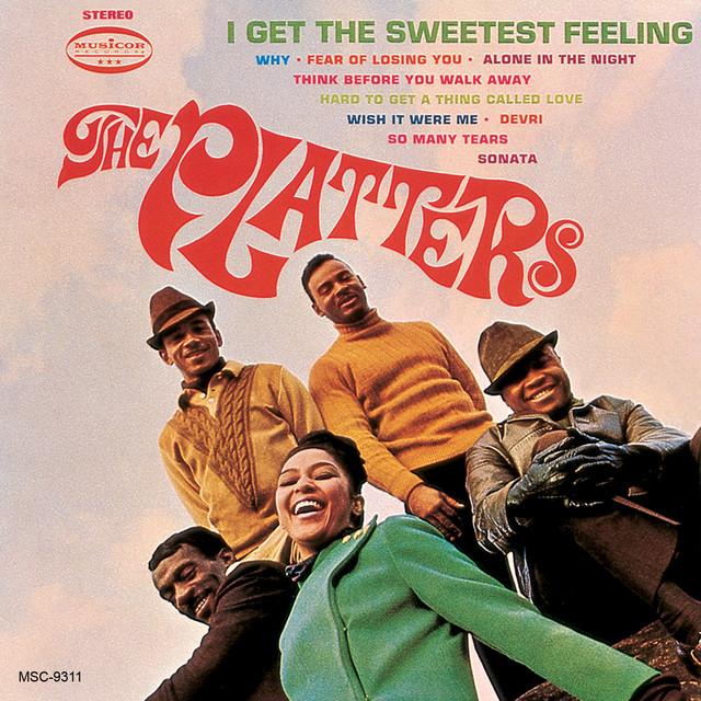 The Platters I Get The Sweetest Feeling album cover