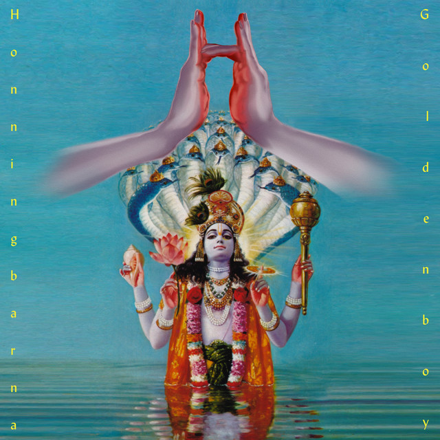 Album cover for Goldenboy by Honningbarna