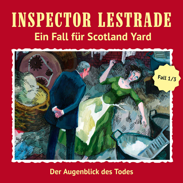 Ein Fall für Scotland Yard: Der Augenblick des Todes Cover
