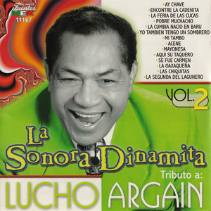 Tributo a Lucho Argaín, Vol. 2 Albumcover