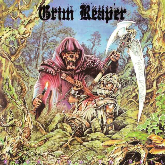 Grim Reaper Rock You to Hell album cover