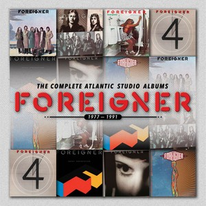 The Complete Atlantic Studio Albums 1977-1991 Albumcover