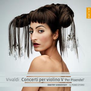 Vivaldi: Concerti per violino V 'Per Pisendel' Albumcover