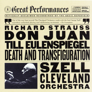 Strauss: Til Eulenspiegel's Merry Pranks, Op. 28, Don Juan, Op. 20, and Death and Transfiguration, Op. 24 Albumcover