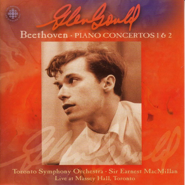 Gould, Glenn: Original Cbc Broadcasts - Beethoven Albumcover