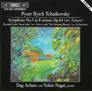 Tchaikovsky: Symphony No. 5 (Arr. for Two Pianos) Albumcover