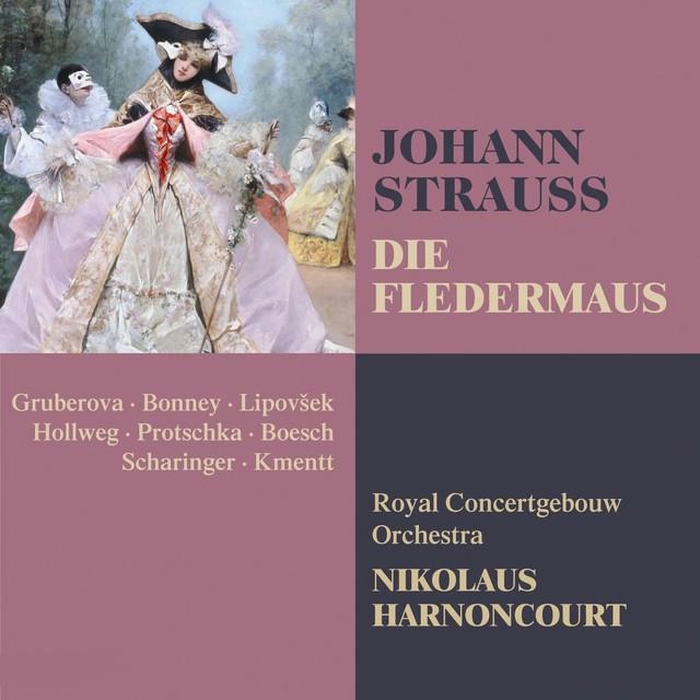 Strauss, Johann II : Die Fledermaus Albumcover