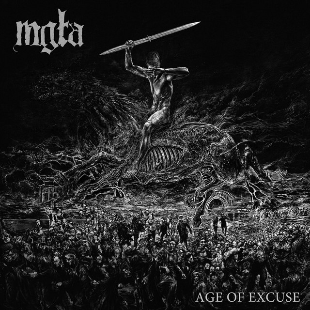 Album cover for Age of Excuse by Mgła