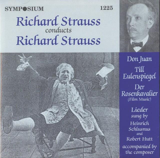 Richard Strauss Conducts Richard Strauss (1917-1926) Albumcover