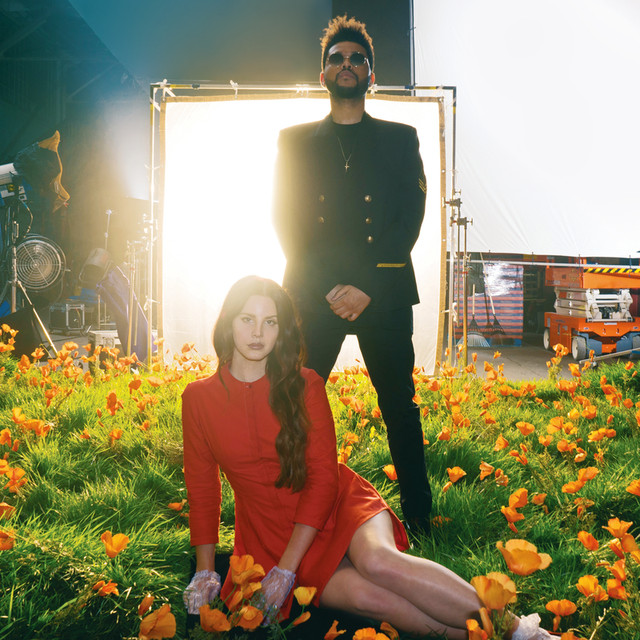 The Weeknd, Lana Del Rey Lust for Life (with The Weeknd) album cover