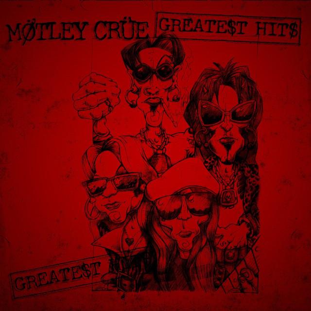 Mötley Crüe The Greatest Hits album cover