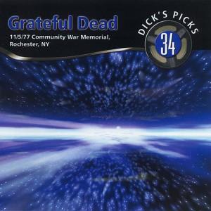 Dick's Picks Vol. 34: 11/5/77 (Community War Memorial, Rochester, NY) Albumcover