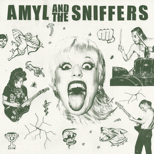 Album cover for Amyl and The Sniffers by Amyl and The Sniffers