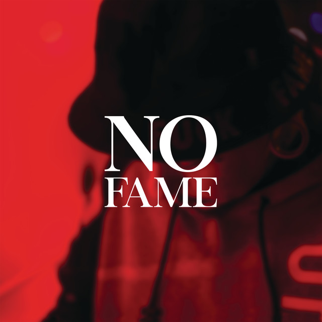 Album cover for No Fame by Agir