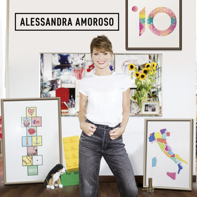 Album cover for 10 by Alessandra Amoroso