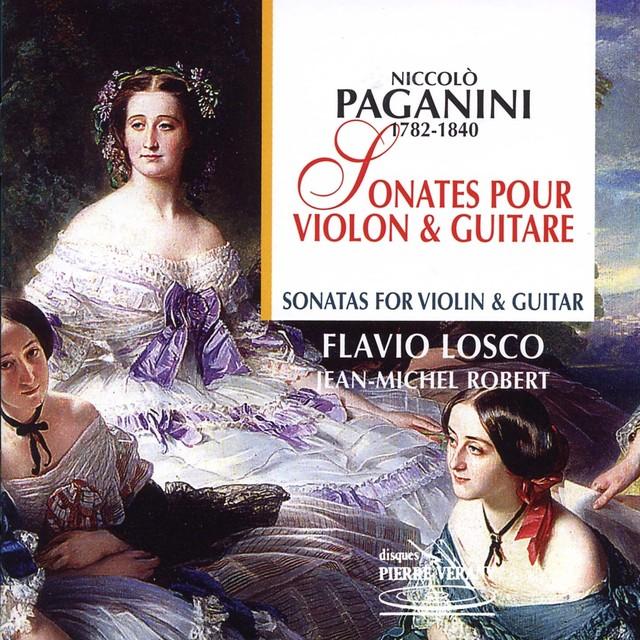 Paganini : Sonates pour violon & guitare Albumcover