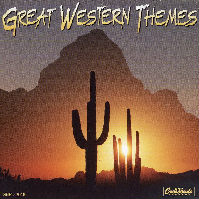 Various Artists Great Western Themes album cover