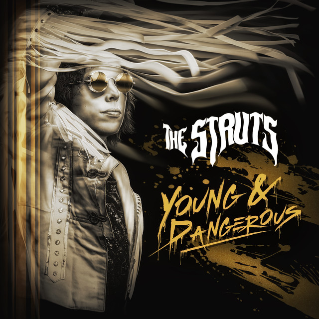 Album cover for YOUNG&DANGEROUS by The Struts
