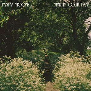 Album cover for Many Moons by Martin Courtney