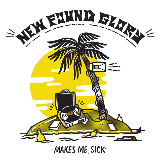 Album cover for Makes Me Sick by New Found Glory