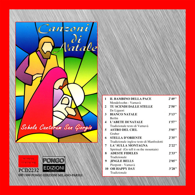 La Stella Di Natale Canzone.Canzoni Di Natale By Schola Cantorum San Giorgio On Spotify