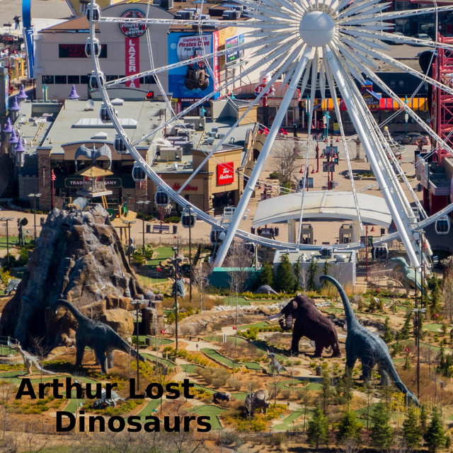 Album cover for Dinosaurs by Arthur Lost